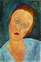 Portrait of Madame Survage, 1918, modigliani
