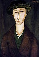 Portrait of Marevna, 1919, modigliani