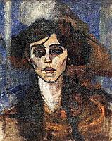 Portrait of Maude Abrantes, 1907, modigliani