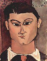 Portrait of the Painter Moïse Kisling, modigliani