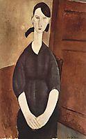 Portrait de Paulette Jourdain, 1919, modigliani