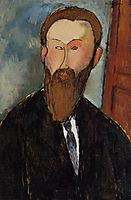 Portrait of the Photographer Dilewski, 1916, modigliani