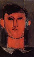 Portrait of Picasso, 1915, modigliani