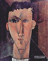 Portrait of Raymond, 1915, modigliani