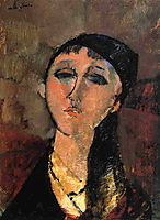 Portrait of a Young Girl (Louise), 1915, modigliani