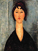 Portrait of a Young Woman, c.1918, modigliani