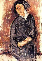 Seated Woman, 1919, modigliani