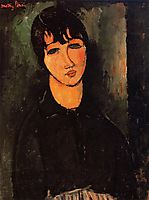 The Servant, 1916, modigliani