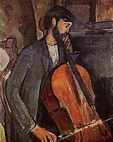 Study for The Cellist, modigliani
