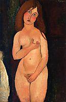Venus (Standing nude), 1917, modigliani