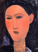 Woman-s Head, modigliani