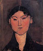 Woman-s Head (Rosalia), c.1915, modigliani