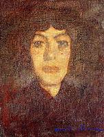 Woman-s Head with Beauty Spot, c.1906, modigliani