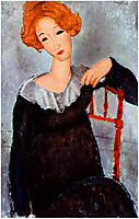 Women with Red Hair, 1917, modigliani