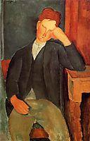The young apprentice, c.1918, modigliani