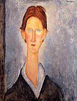 Young Man (Student), 1919, modigliani
