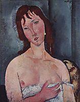 Young woman, 1918, modigliani