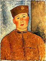 The Zouave, 1918, modigliani