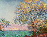 Antibes in the Morning, 1888, monet