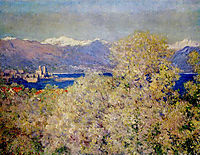 Antibes - View of the Salis Gardens, 1888, monet