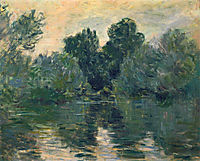 The Arm of the Seine, 1878, monet