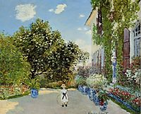 The Artist-s House at Argenteuil, 1873, monet