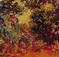 The Artist-s House from the Rose Garden, 1924, monet