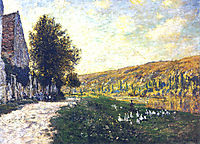 The Banks of the Seine, Lavacourt 02, 1878, monet