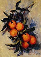 Branch of Orange Bearing Fruit, 1884, monet