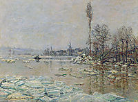Breakup of Ice, 1880, monet