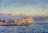 The Castle in Antibes, 1888, monet