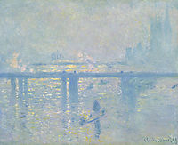 Charing Cross Bridge, 1899, monet
