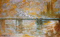 Charing Cross Bridge 3, 1901, monet