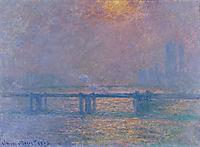 Charing Cross Bridge, The Thames, 1903, monet