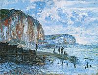 Cliffs of Les Petites-Dalles, 1880, monet