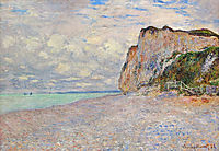 Cliffs near Dieppe, 1882, monet