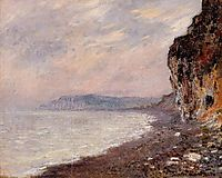 Cliffs at Pourville in the Fog, 1882, monet