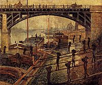 Coal Dockers, 1875, monet