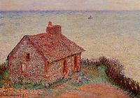 Customs House, Rose Effect, 1897, monet