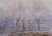 Flood at Giverny, 1897, monet