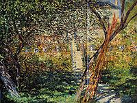 Garden at Vetheuil, monet