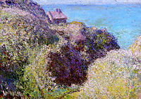 The Gorge at Varengeville, Late Afternoon, 1897, monet