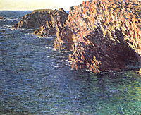 The Grotto of Port-Domois, 1866, monet