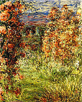 The House among the Roses 2, 1925, monet