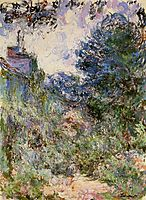 The House Seen from the Rose Garden, 1924, monet
