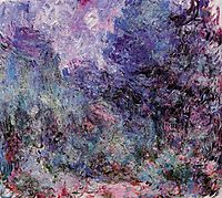 The House Seen from the Rose Garden 3, 1924, monet