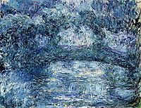 The Japanese Bridge 3, 1924, monet