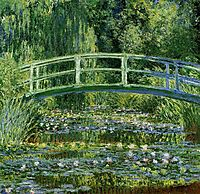 The Japanese Bridge (The Water-Lily Pond), 1899, monet