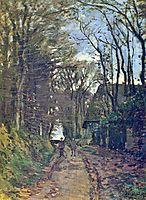 Lane in Normandy, 1868, monet