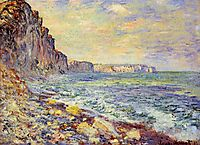 Morning by the Sea, 1881, monet